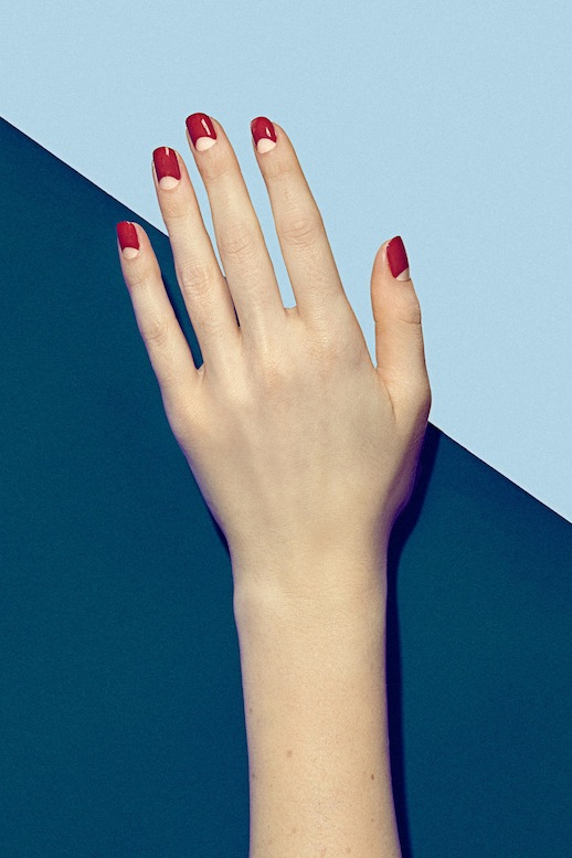 Le-Fashion-Blog-3-Manicures-To-Try-Now-Nude-Red-Moon-Retro-Nails-Via-Harpers-Bazaar