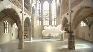 Real cloud inside room